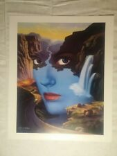 """Mother Nature""  Signed Limited Edition by Jim Warren Lithograph"