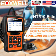 FOXWELL NT510 for BMW Full Systems OBD2 Scanner ABS Airbag SAS AT EPB DPF Reset