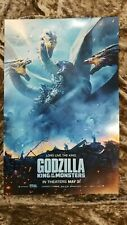 Godzilla King Of the Monsters movie poster (h) - 11 x 17 (2019)
