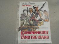Steve McQueen, Kanonenboot am Yang Tse Kiang  - Original Filmplakat A1
