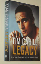 "Tim Cahill (Australian Socceroos) signed Book ""Legacy""+COA & Photo Proof signing"