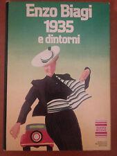 LIBRO ENZO BIAGI - 1935 E DINTORNI - MONDADORI EDITORE 1982