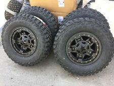 "17x9 XD827 Rockstar 3 33"" MXT MT Wheel and Tire Package 6x135 Ford F150"