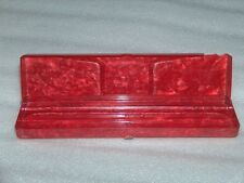 VINTAGE CELLULOID?  PENCIL BOX, PARTLY DAMAGED, USSR/RUSSIA, 1960-70