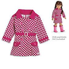 New My American Girl Rainy Day Coat 2013 & Sophia's Rain Boots & Umbrella 8+ Nip