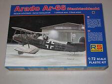 1/72 Scale RS Models Arado Ar-66 German Trainer