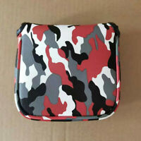 1x Camo Square Mallet Putter Cover Golf Headcover For Spider-Tour Magnetic