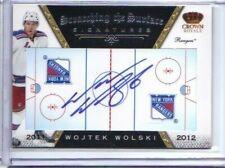 2011-12 Crown Royale Scratching The Surface Signatures #45 Wojtek Wolski 12$US