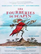 Affiche 40x60cm LES FOURBERIES DE SCAPIN 1981 Roger Coggio, Michel Galabru TBE