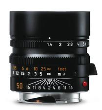 Leica SUMMILUX-M 1:1,4/50mm Asph Negro Anodizado (Nuevo) 11891