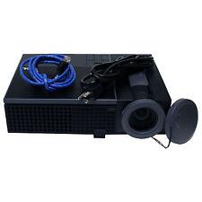 Dell 1610HD 1280 x 800 PC 3D Ready DLP HDMI WXGA 1080p Projector w Bag/Stand