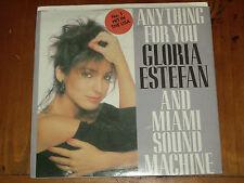 """GLORIA ESTEFAN *RARE 7"""" 45 ' ANYTHING FOR YOU ' 1988 VGC+"""
