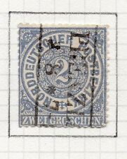 Germany Northern States 1870s Fine Used 2g. Postmark   96413