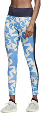 adidas Believe This Iteration High Rise Womens Long Training Tights - Blue