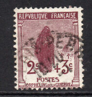 France 2 Cent + 3 Cent Stamp c1917-19 Used (5963)