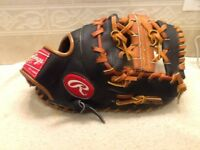 """Rawlings RFM25BT 12"""" Youth Baseball First Base Mitt Right Handed Throwing"""