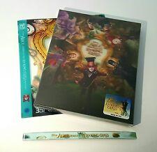 ALICE THROUGH THE LOOKING GLASS [2D/3D] Blu-ray STEELBOOK [NOVAMEDIA] LENTICULAR