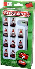 Subbuteo MANCHESTER UNITED Colours Team Football Soccer Figures Miniatures