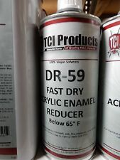 Acrylic Enamel Fast Dry DR - 59 100% Virgin Acrylic Paint Reducer 1 - Quart Can