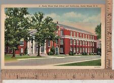 1920s USED POST CARD ROCKY MOUNT HIGH SCHOOL, ROCKY MOUNT, NC