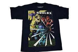 Roblox Youth Boys Navy Tee Shirt New XS(4-5), S(6-7), XL(14-16), XXL(18)