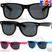 New Kids Children Square Retro Classic Sunglasses Boys Girls UV400 Protection