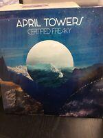 APRIL TOWERS - Certified Freaky - Vinyl (LP) New Sealed Pop Rock