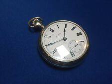 Near Perfect Elgin 18s (18 size) 15 jewel pocket watch. Serviced! New Parts!