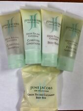 JUNE JACOBS SPA COLLECTION TOILETRIES 5 PC SHAMPOO CONDITIONER LOTION GEL SOAP