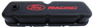 Proform Ford Racing Steel Valve Covers Black Crinkle