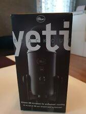 Blue Yeti Blackout USB Microphone Brand NEW SEALED