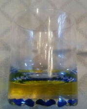 New listing 6 Vintage Murano Bar Glasses With Unusual Bottom
