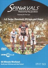 SPINERVALS 3.0 TURBO: THRESHOLD, VO2 MAX & POWER STATIONARY CYCLE BIKE DVD
