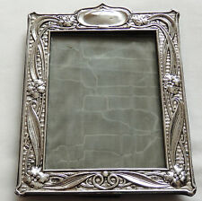 Fine Antique Art Nouveau Sterling Silver Photo Frame c1904 by Deakin & Francis