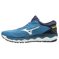 Mizuno WAVE SKY 3 Men's Running Shoes Blue Marathon Outdoor Fitness J1GC190201