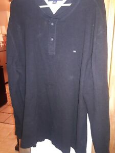 Tommy Hilfiger Mens Long Sleeve Top Size Xxl