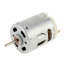 Bicycle Boat Car Dc 12v 50ma 5000rpm High Speed Micro Motor Silver Tone