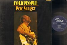 PETE SEEGER Folkpeople LP 1971 Folk People
