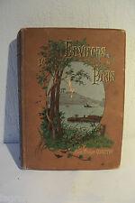 Très ancien et rare livre de 1887 sur Paris et ses environs France quantin