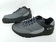 Oakley radarlock mens mountain bike mtb shoes size 8.5 w/ shimano clips Black