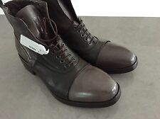 Gianni Barbato men's boots- 8US/41-new with tags-Unique & rare