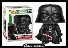 Funko Pop Star Wars Holiday Darth Vader With Candy Cane - Vinyl Figure 279