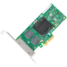 STANDARD PROFILE Intel I340-T4 Quad-Port 4x Gigabit-LAN PCIe x4 2.0 P/N: E1G44HT