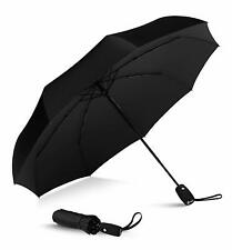 Windproof Travel Umbrella With Teflon Coating Auto Open/Close