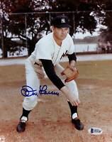 Yankees Don Larsen Authentic Signed 8x10 Photo Autographed BAS 1