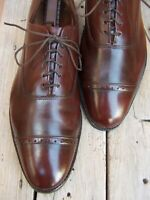 ALLEN EDMONDS Mens Dress Shoes Classic Brown Cap Toe Lace Up Oxfords Sz Size 13B