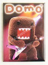 Domo Kun Playing Guitar Rock Metal Magnet Licensed Hot Properties New