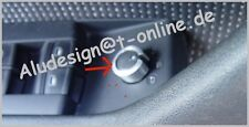 Aluring Alu ringf. Spiegelversteller Audi A4 8E B6 + B7 Chrom