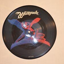 "WHITESNAKE - Here i go again - 1982 UK 7"" SINGLE Picture disc"