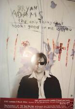 "Bryan Adams ""Only Thing"" U.K. Promo Poster -Canada Rock"